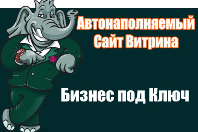Сайт - Интернет Витрина. Бизнес под ключ + SEO Продвижение 1 - kwork.ru