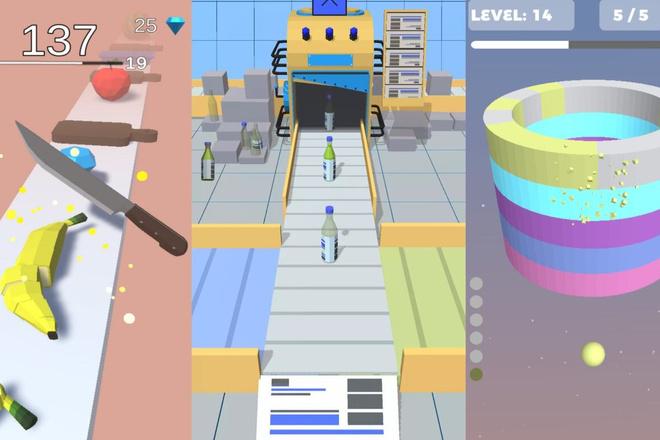 Я предоставлю трендовые исходные коды unity games из мое коллекции игр 2 - kwork.ru