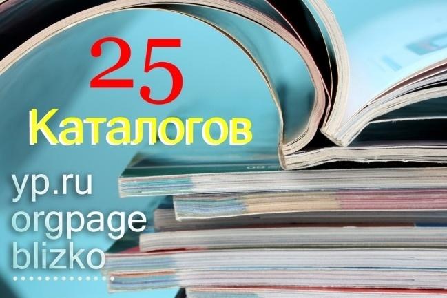 Размещу Вашу организацию в каталогах и справочниках 1 - kwork.ru