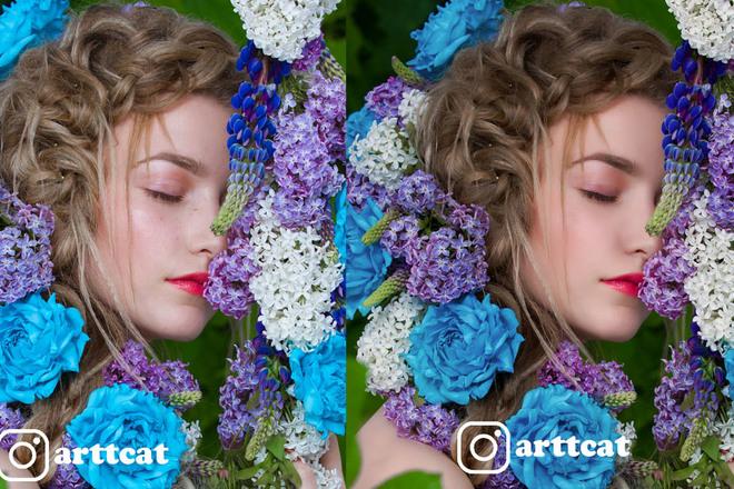 Профессиональная обработка и ретушь фотографий за 24 часа 4 - kwork.ru