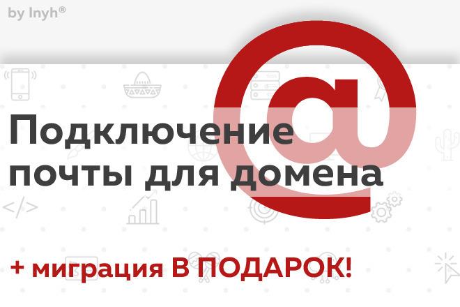 Подключение и настройка безлимитной корпоративной почты 1 - kwork.ru