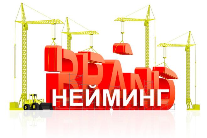 Профи нейминг. Разработаю название для вашей компании, вашего проекта 1 - kwork.ru