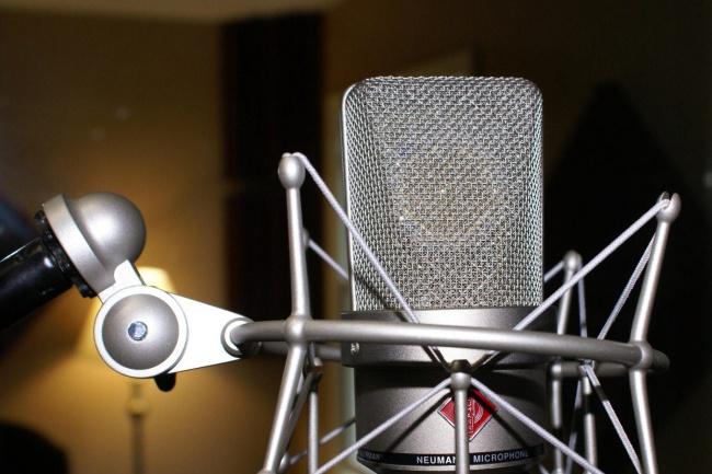 Дикторский голос и изготовление аудиороликов, IVR, джинглов 1 - kwork.ru