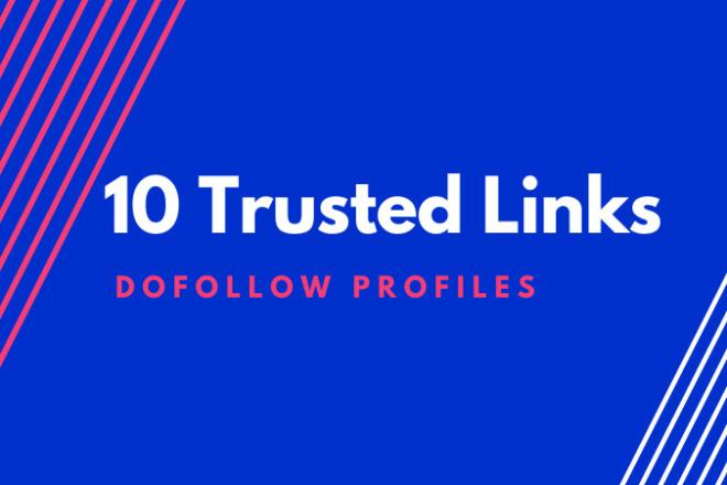 10 трастовых SEO ссылок с профилей, в каждом профайле 300+ слов текста 1 - kwork.ru