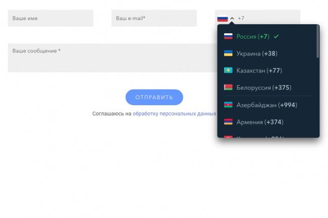 Создание и установка формы обратной связи 1 - kwork.ru