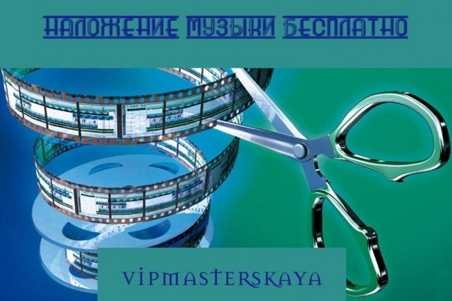 Монтаж, обрезка, склейка видео. Наложение музыки бесплатно 1 - kwork.ru