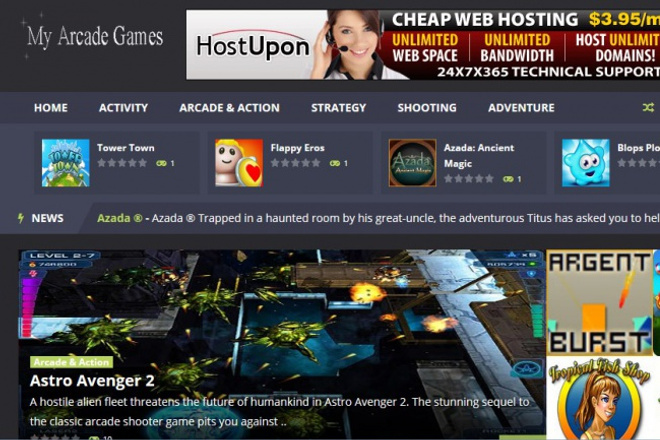 Создам автонаполняемый игровой сайт на WordPress 4 - kwork.ru