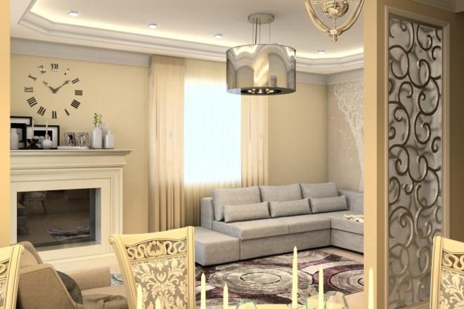 Дизайн интерьера 6 - kwork.ru