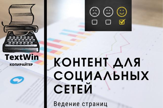 Подготовлю контент для соцсетей 1 - kwork.ru