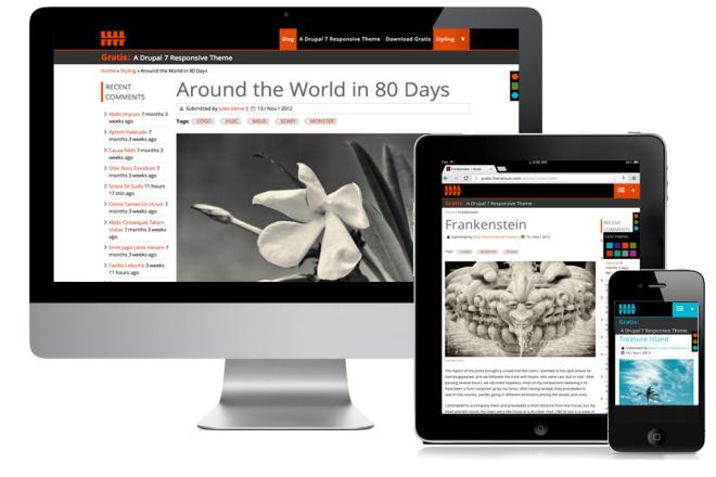 Адаптация страницы сайта под мобильные устройства 18 - kwork.ru