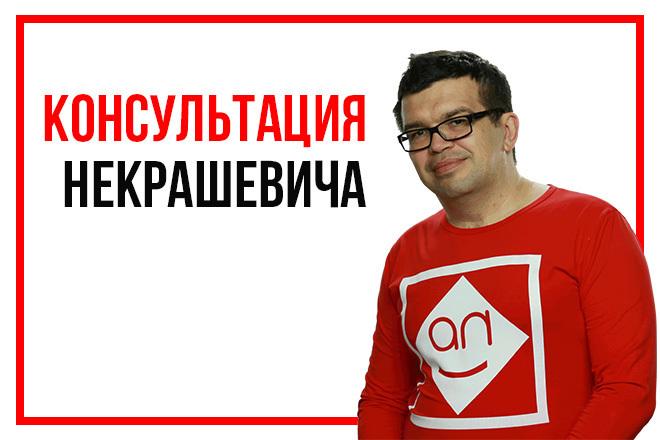 Консультация настоящего эксперта интернет-маркетинга за 500 секунд 1 - kwork.ru