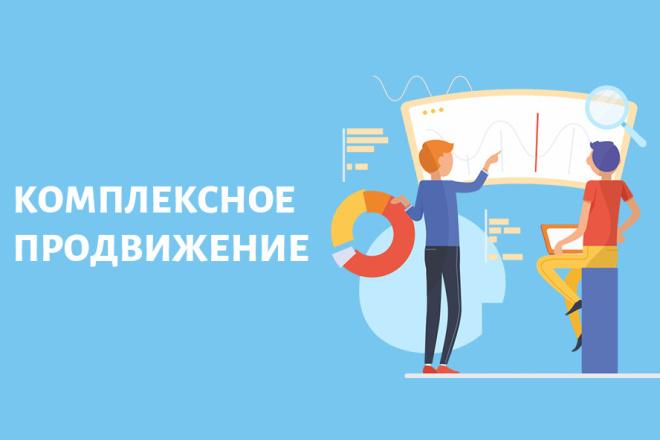 Комплексное продвижение сайтов 1 - kwork.ru