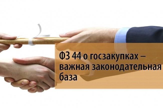 Предоставлю консультацию по изменениям в 44-фз 1 - kwork.ru