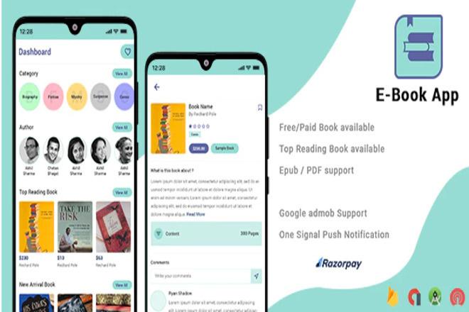 Электронная книга iOS Android 4 - kwork.ru