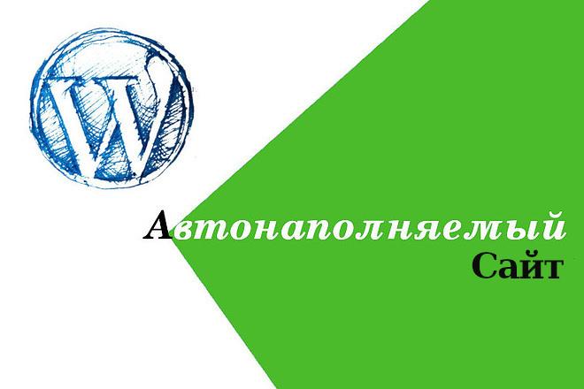 Автонаполняемый сайт новостной агрегатор 5 - kwork.ru