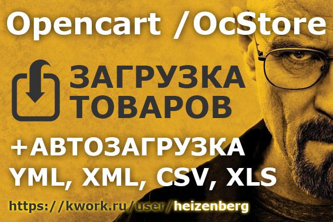 Импорт товаров в Интернет-магазин 1 - kwork.ru