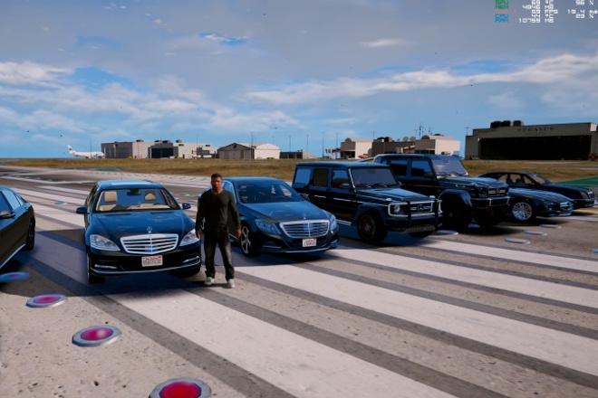 Мод GTA 5 с реальными автомобилями 3 - kwork.ru