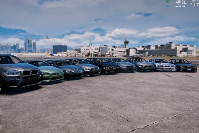 Мод GTA 5 с реальными автомобилями 1 - kwork.ru