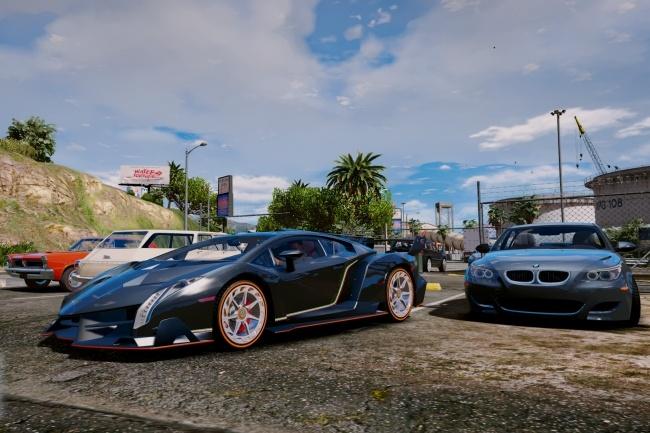 Мод GTA 5 с реальными автомобилями 2 - kwork.ru