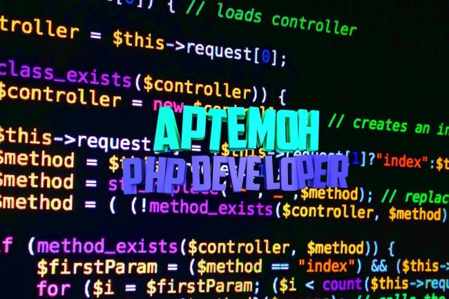 Напишу любой PHP скрипт, модуль, плагин 1 - kwork.ru