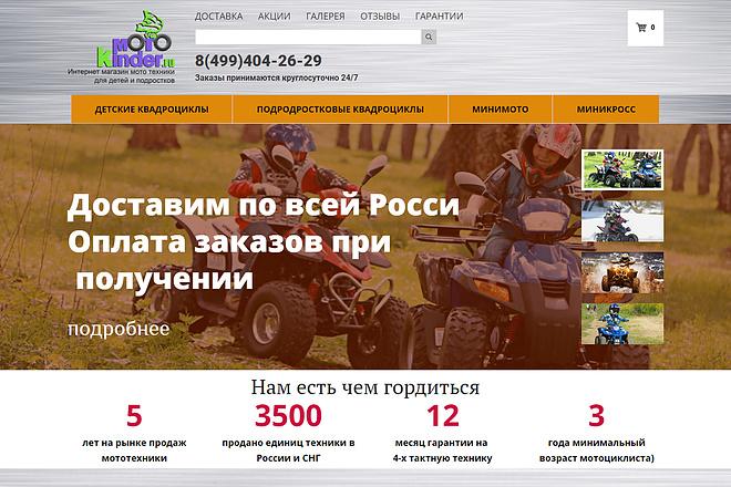 Лендинг под ключ с нуля или по примеру 44 - kwork.ru