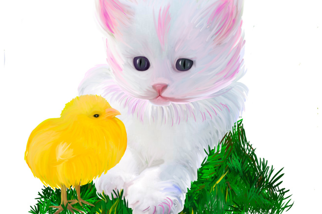 Детские Иллюстрации 4 - kwork.ru