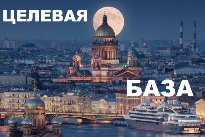 Целевая база компаний Cанкт- Петербурга 2019 по сферам деятельности 1 - kwork.ru