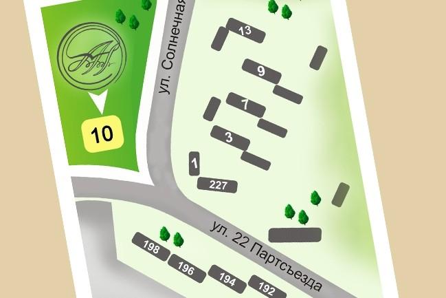 Карты и схемы проезда 20 - kwork.ru
