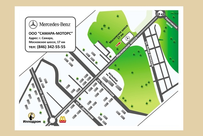Карты и схемы проезда 21 - kwork.ru