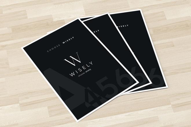 Дизайн двухсторонней листовки с исходниками 55 - kwork.ru