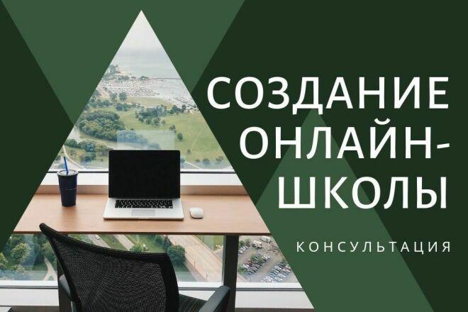 Создание онлайн школы. Консультация 1 - kwork.ru