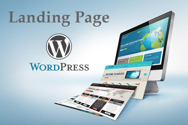 Сделаю адаптивный Landing Page на WordPress под ключ 9 - kwork.ru