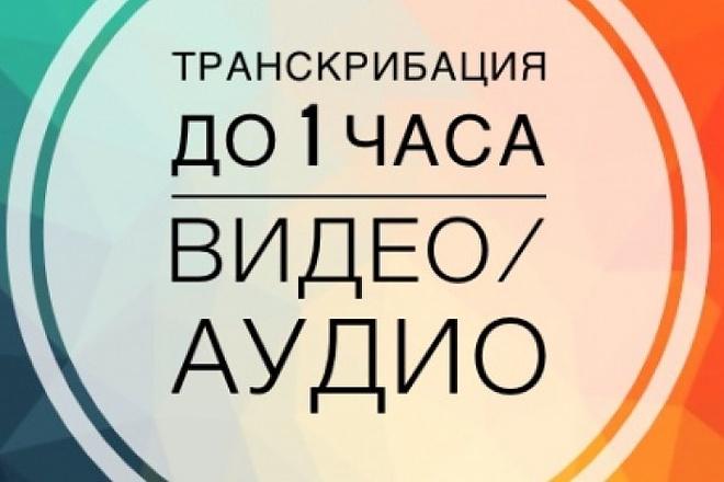 Транскрибация аудио, видео файлов 1 - kwork.ru