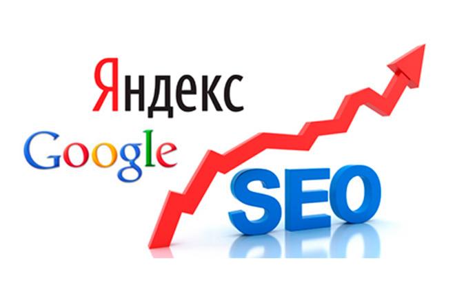 Поисковое продвижение под ключ в Google и Яндекс 30 дней - 500 ключей 1 - kwork.ru