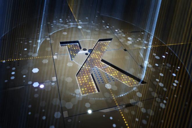 3D лого в стиле HI-TECH 1 - kwork.ru
