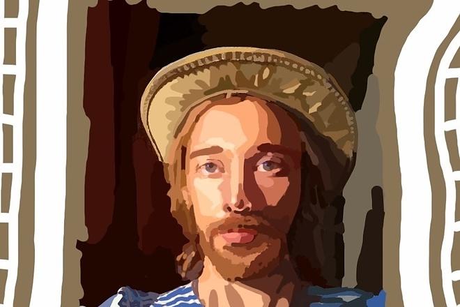 Нарисую портрет в растровой или векторной графике 11 - kwork.ru