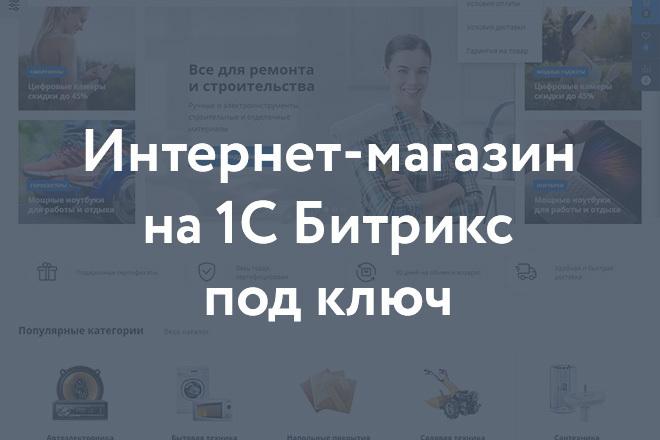Интернет-магазин на 1С-Битрикс под ключ на готовом шаблоне 10 - kwork.ru
