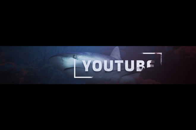 Дизайн шапки YouTube канала 4 - kwork.ru