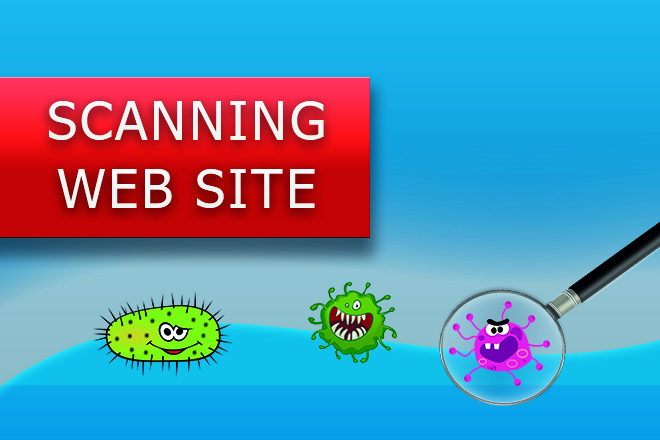 Поиск и удаление вирусов на сайте 1 - kwork.ru