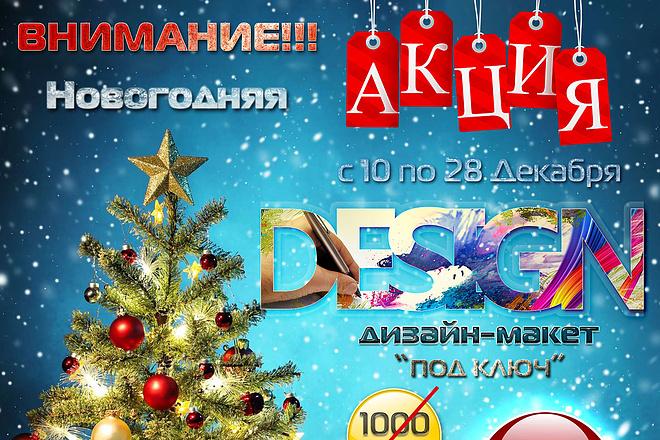 Дизайн Афиша, Плакат, Постер 18 - kwork.ru