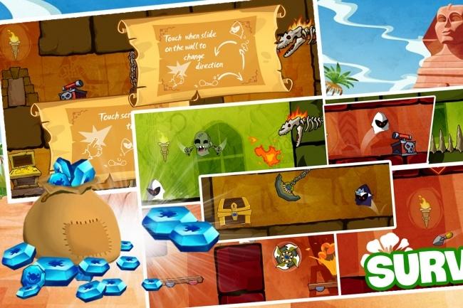 Исходник мобильной игры King Of Pyramid Thieves. Unity3d исходники 3 - kwork.ru
