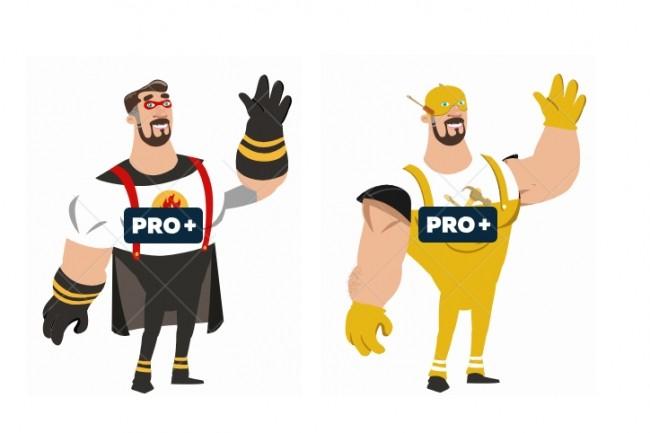 Анимация c персонажами на выбор 4 - kwork.ru