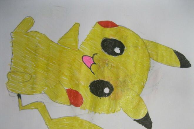 Детские рисунки 6 - kwork.ru