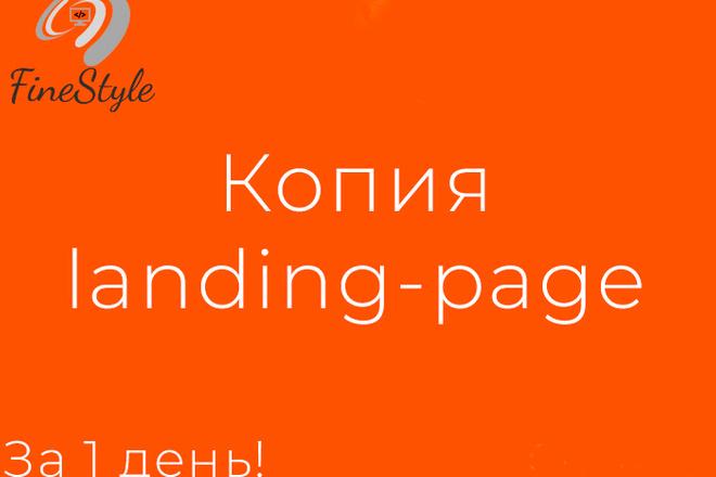 Скопирую одностраничный сайт, лендинг 51 - kwork.ru