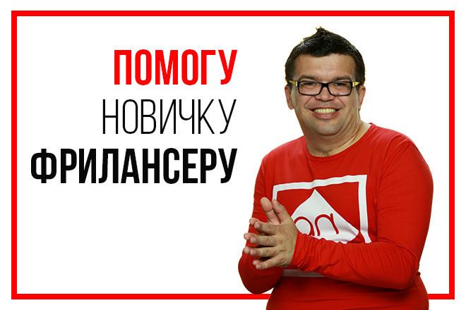 Помогу фрилансеру-новичку получить первый заказ на удаленной работе 1 - kwork.ru