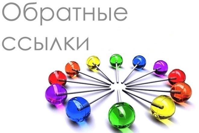 Размещу 1500 вечных ссылок для продвижения и раскрутки Вашего сайта 1 - kwork.ru