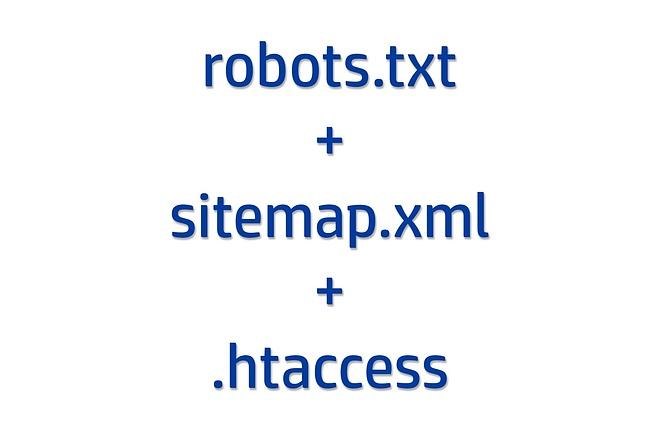 Настрою robots.txt, sitemap.xml и . htaccess для вашего сайта 1 - kwork.ru