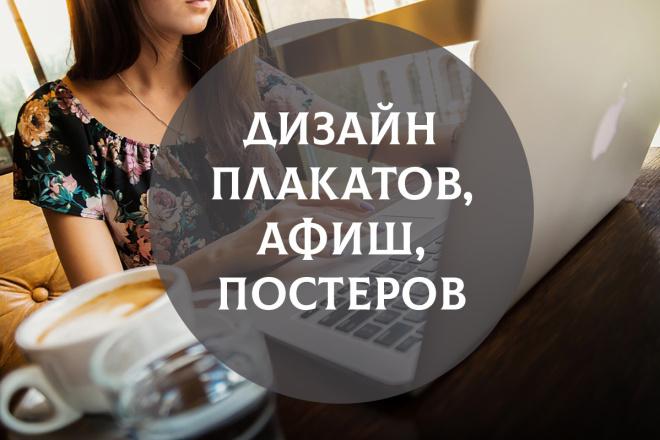 Дизайн афиш 8 - kwork.ru