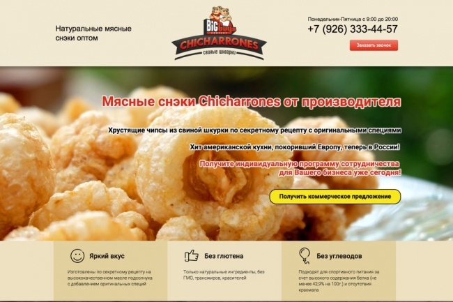 Продающий Landing Page под ключ 49 - kwork.ru