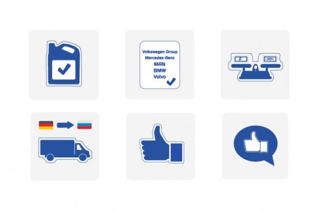 Создам пакет иконок 2 - kwork.ru